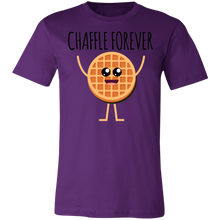 Load image into Gallery viewer, Chaffle Forever - Black Text Unisex Shirt