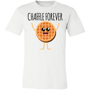 Chaffle Forever - Black Text Unisex Shirt