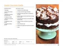 Load image into Gallery viewer, Keto Chaffle Recipes eBook Cookbook