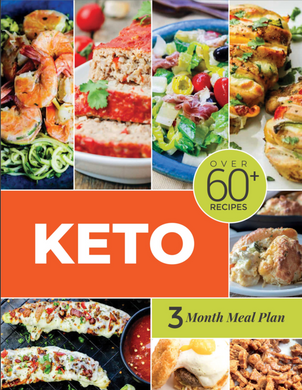 Keto Meal Plan - 3 Month Meal Plans with Grocery Lists (Volume 3)