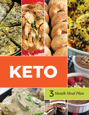 Keto Diet Menu - 3-Month Keto Menu Plans with Grocery Lists (Volume 2)