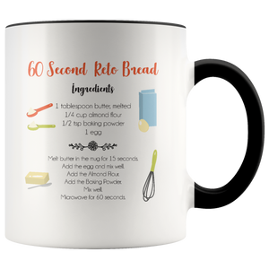 60 Second Keto Bread Mug Design #3