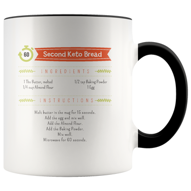 60 Second Keto Bread Mug Design #1