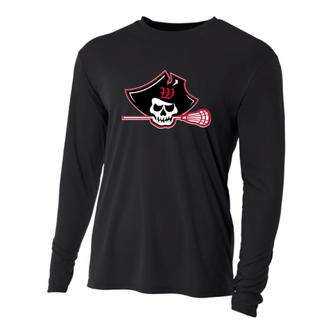 Raider Lax  - A4 Long Sleeve Performance Tee