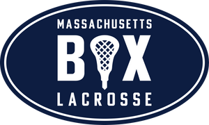 Mass Box Lax Car Magnet and Stickers
