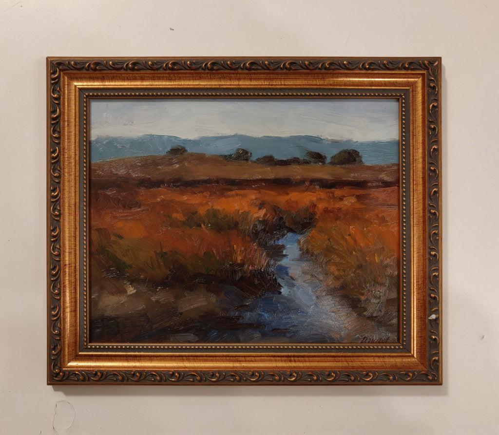 Mountain View Brown (framed)