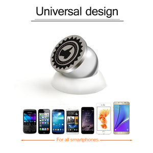 Magnetic Car Phone Holder with 360° Rotation