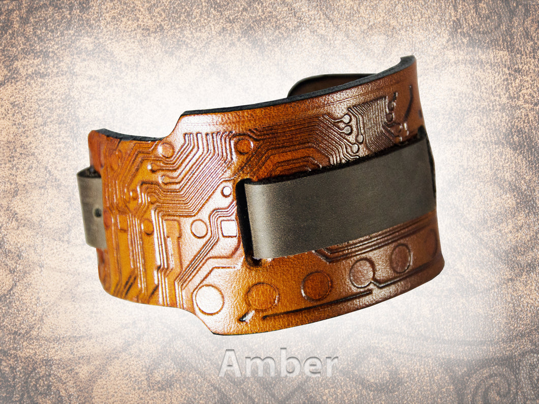 Circuit Watch Cuff - Wide