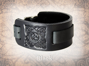 Celtic/Norse Triskel Watch Cuff