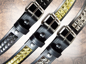 Pyramid Stud Belt - 2 Row