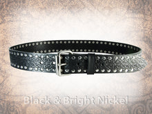 Riveted Celtic Eternity Knot Belt