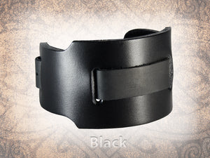 Plain Watch Cuff - Wide