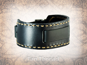 Handstitched Plain Watch Cuff