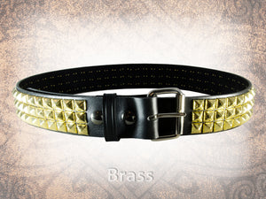 Pyramid Stud Belt - 3 Row