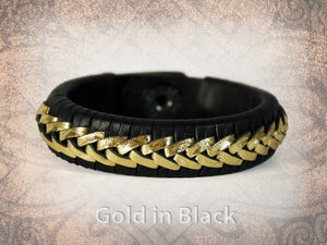 Rene Braided Cuff - Gold