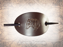 Wolf Head Barrette