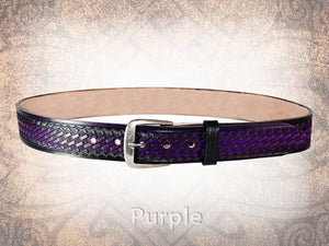 Basketweave Belt