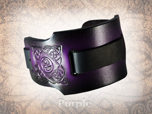 Celtic/Norse Triskel Watch Cuff - Wide