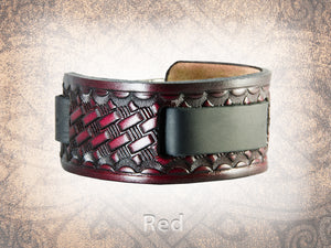 Basketweave Watch Cuff