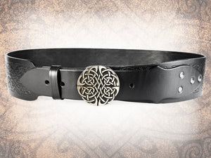 Celtic Hounds Kilt Belt