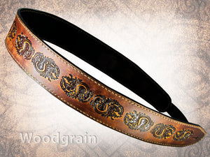 Oriental Dragon Guitar Strap