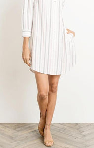 ALEXIS OFF-SHOULDER STRIPE
