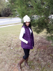 EMERY QUILTED VEST