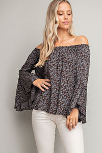 LAUREN OFF-SHOULDER TOP