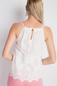 RUTHIE EMBROIDERED CAMI