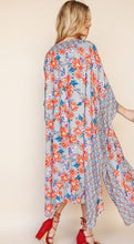 KATE FLORAL KIMONO/COVER-UP