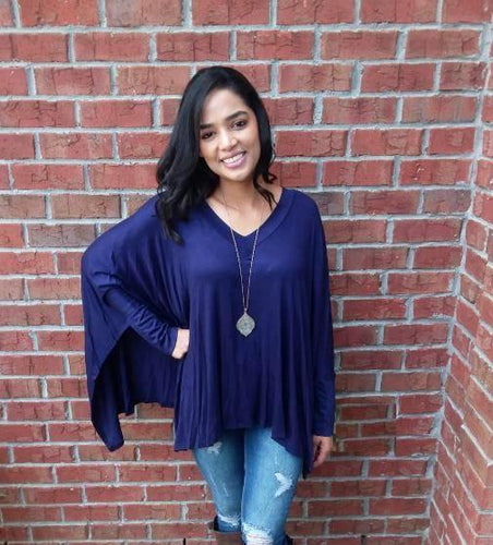 CASEY PONCHO TOP