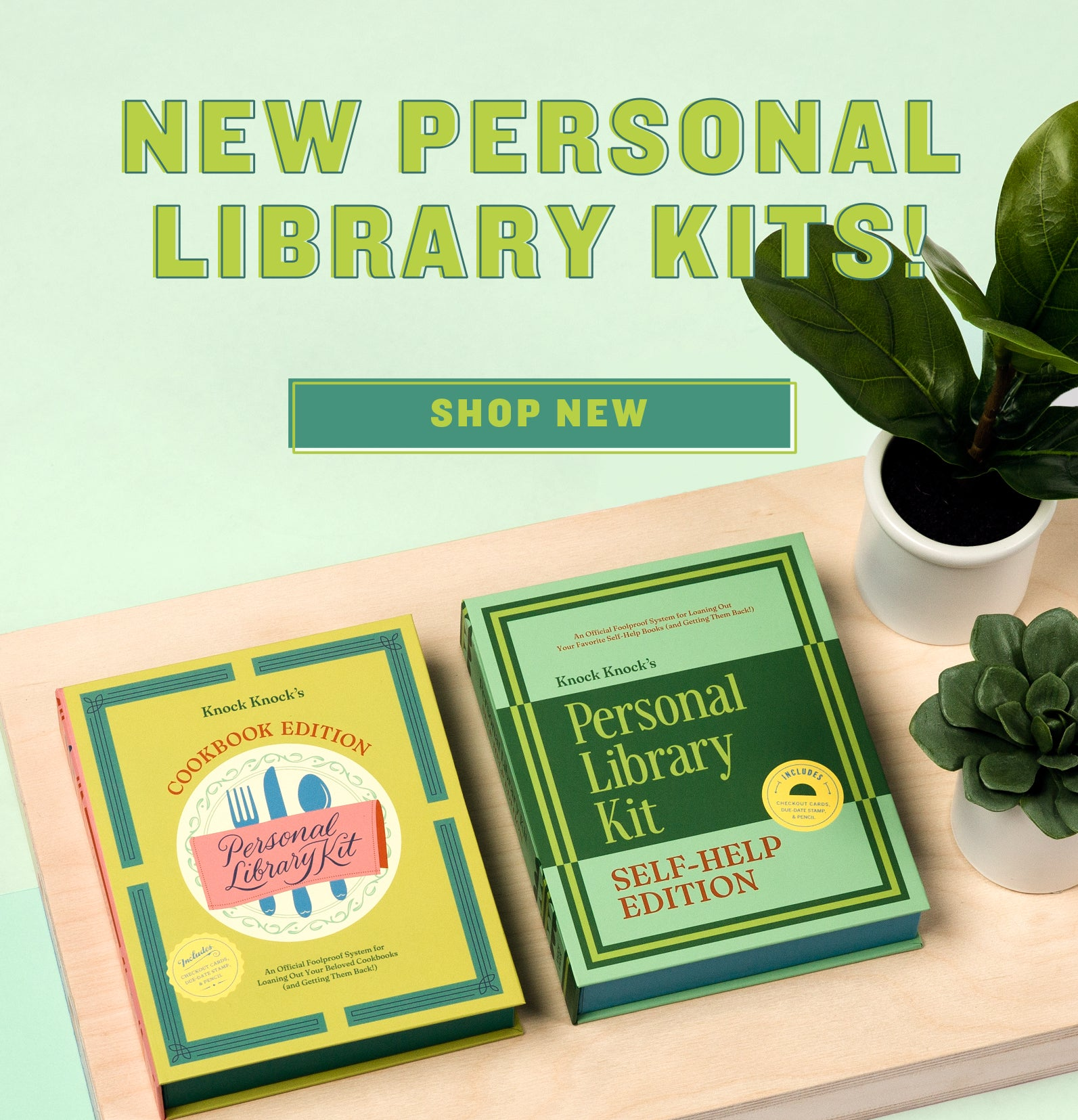 New! Personal Library Kits