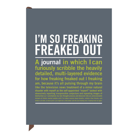 Knock Knock I'm So Freaking Freaked Out Inner-Truth Journal