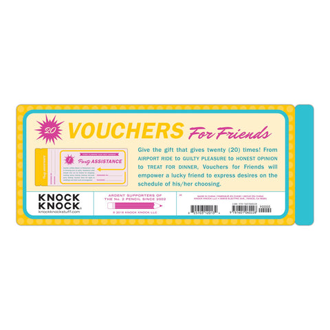 Knock Knock Vouchers for Friends