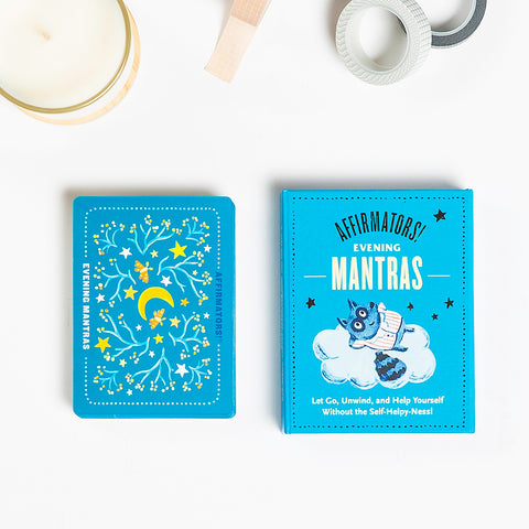 Affirmators! Mantras Evening – Night Affirmation Cards Deck