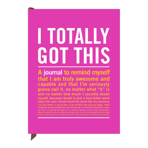 Knock Knock I Totally Got This Inner-Truth Journal