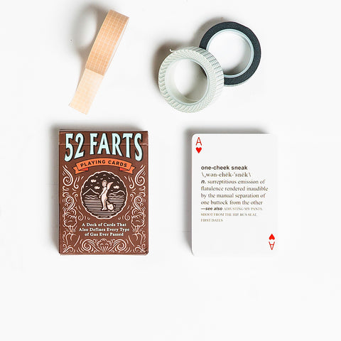 52 Farts Playing Cards Deck