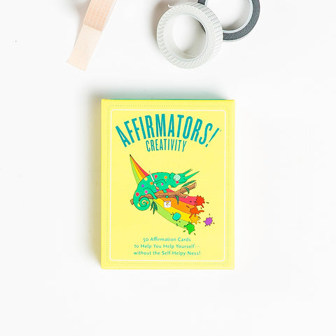 Affirmators!® Creativity: 50 Affirmation Cards Deck
