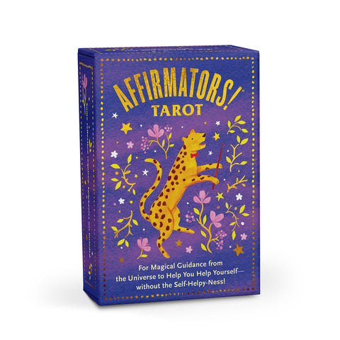 Affirmators! 78 Card Tarot Deck - Purple