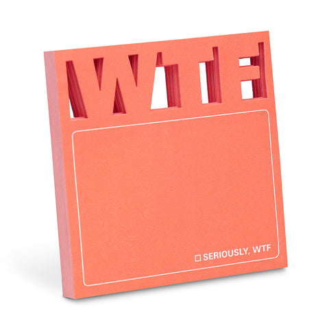 WTF Diecut Sticky Notes