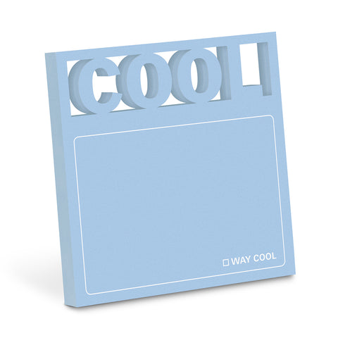 Cool Diecut Sticky Notes