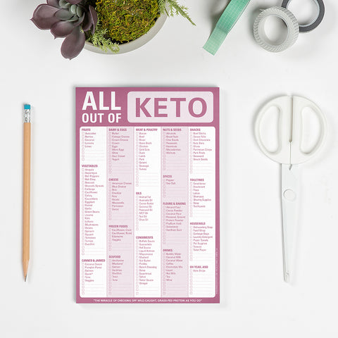 All Out Of Pad (Keto)