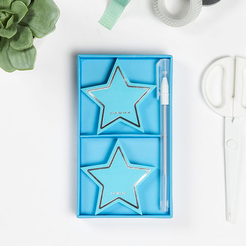 Stars Sticky Sets with Gel Pen