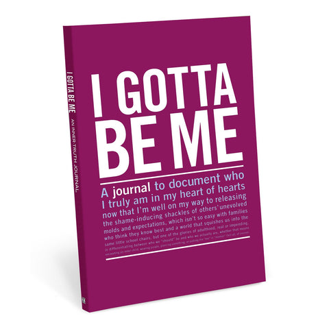Knock Knock I Gotta Be Me Guided Journal
