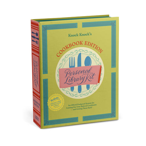 Knock Knock Personal Library Kit: Cookbook Edition
