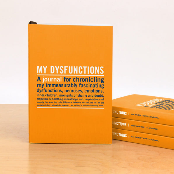 Knock Knock My Dysfunctions Mini Journals