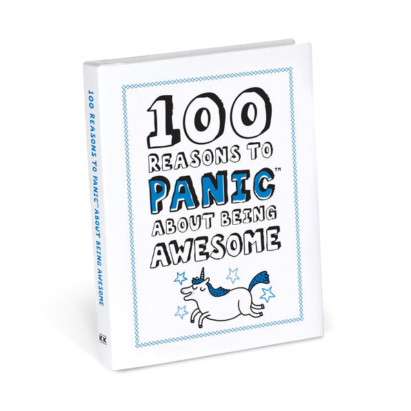 Knock Knock 100 Reasons to Panic about Being Awesome