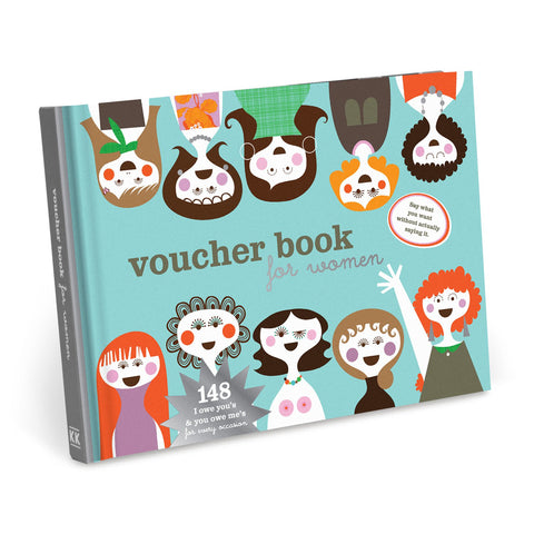 Knock Knock Vouchers for Women Illustrated by Sandra Isaksson
