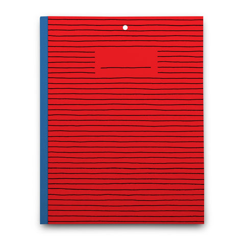 Plumb Notebooks Red Paper Options (Large)