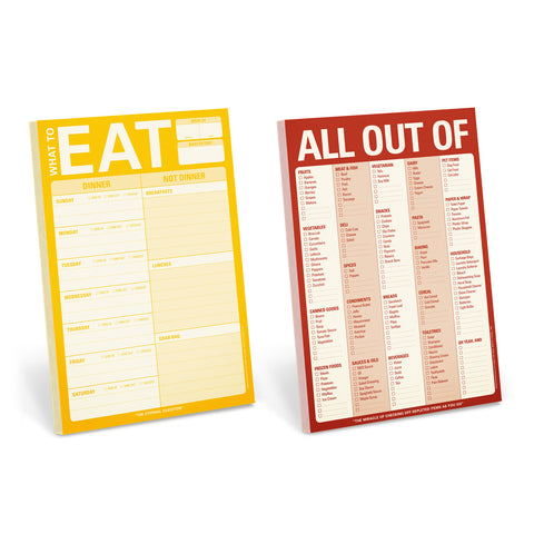 Let's Eat! Notepad Set
